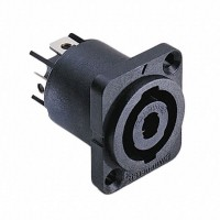 SWITCHCRAFT HPCP41F   Conector para chasis SPEAK ON 4 polos rectangular