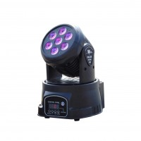 SPECTRUM LIGHTING SPIRIT80 | Mini Cabezal Movil de 7 Leds de 10 Watts